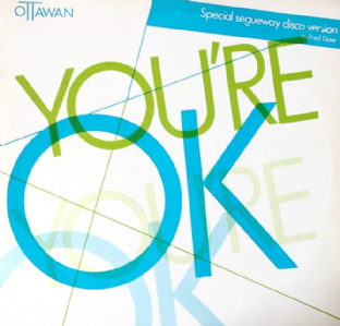 "Ottawan ‎- You're O.K.  (12"") (VG-/VG)"